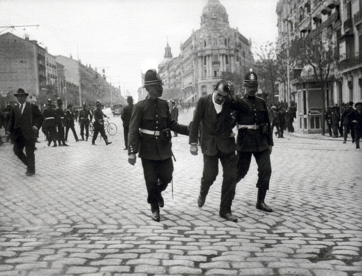 Gran Via, May 1st, 1918