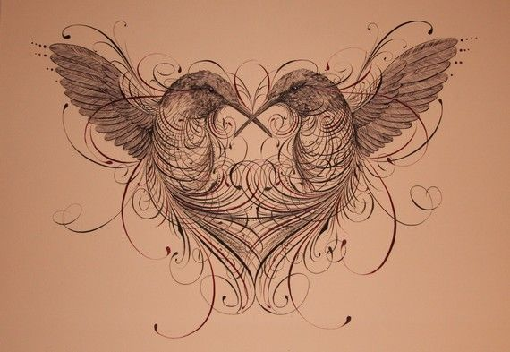 Jake Weidmann: calligraphy