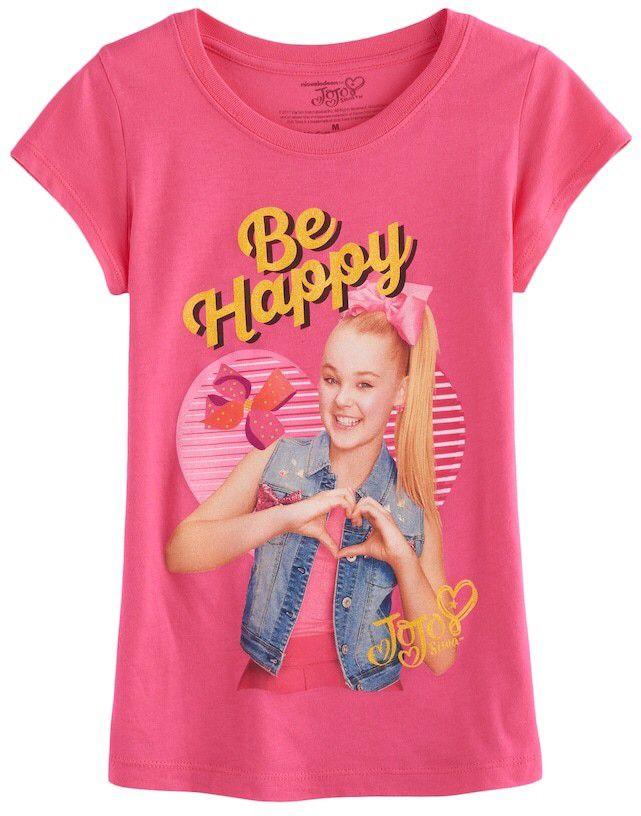 "JoJo Siwa Girls 7-16 JoJo Siwa ""Be Happy"" Graphic Tee #jojo #jojosiwa #tshirt #girlsfashion"