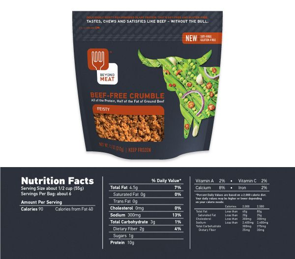 Vegetarian-ize that recipe with #BeyondBeef Beef-free Crumble #2014 #GoBeyond