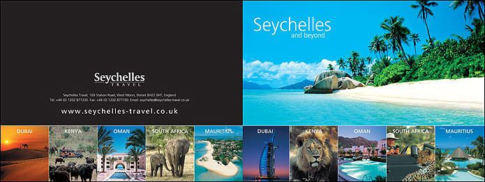 Seychelles Travel holiday brochure ART217 Travel Brochure\/O - travel brochure