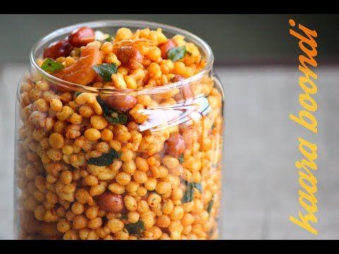 Kara Boondi - how to prepare Boondi at home - Foodvedam