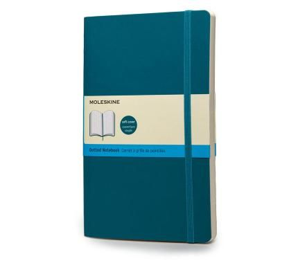Notebook - Large - Dotted - Underwater Blue - Soft - Moleskine ®