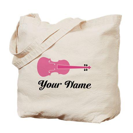 Cute Custom Viola Tote Bag on CafePress.com