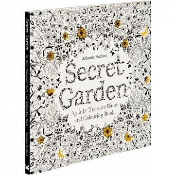Secret Garden Coloring Book - Johnanna Basford  #coloringbookforgrownups #oldschool #childhood