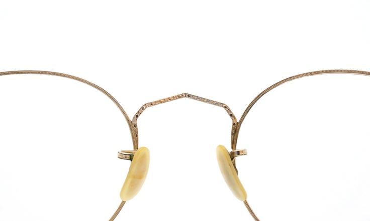 American optical ヴィンテージ メガネ[1930's Mershwood Gold Round with Clipon] | PON MEGANE | JAPAN