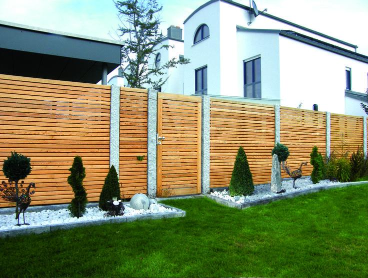 Holz Sichtschutzzaun Sichtschutzzaun garten, Zaun garten