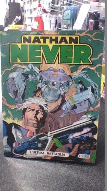 NATHAN NEVER   NUMERO 12  l ultima battaglia