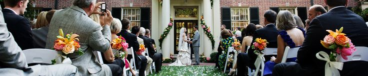 Wedding Reception Venues - places to have a wedding reception in Raleigh, Durham, Chapel Hill, Apex and Cary, NC. Triangle NC wedding locations from Southern Bride and Groom.