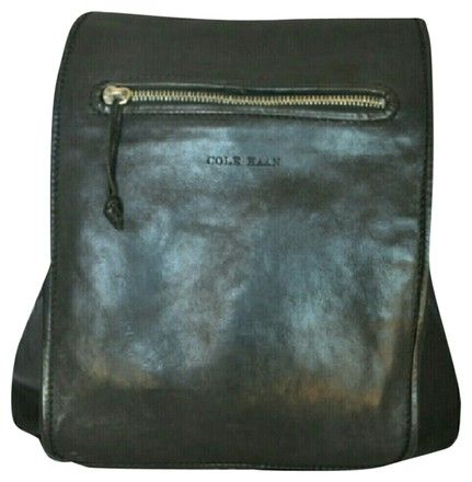 Cole Haan Black Leather Mint Backpack. Get one of the hottest styles of the season! The Cole Haan Black Leather Mint Backpack is a top 10 member favorite on Tradesy. Save on yours before they're sold out!