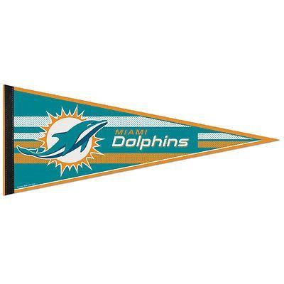 Miami Dolphins NFL Classic Pennant