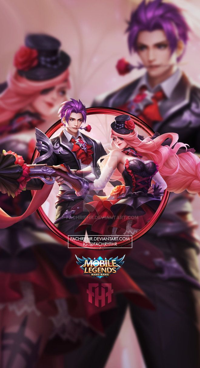 Wallpaper Phone Gusion Lesley Valentine By Fachrifhr Animasi