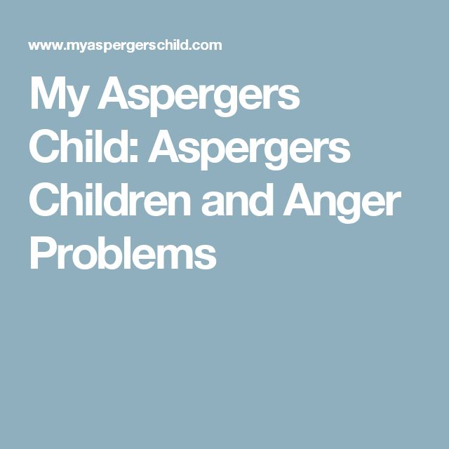 Aspergers dating problemer