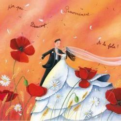 Carte Marie Cardouat - Un peu, beaucoup, passionnément.. -