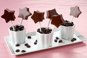 coffee-liqueur jello stars.