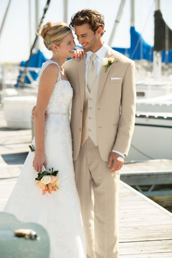 Signe Dan With Images Beach Wedding Groom Attire Beach