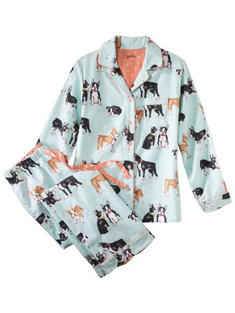 Nick & Nora Women's Pajama Set – Puppies, $29.99, target.com