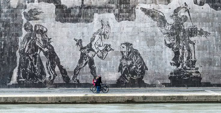 #‎Art in #‎Rome - #‎Frieze Triumphs and Laments by William Kentridge