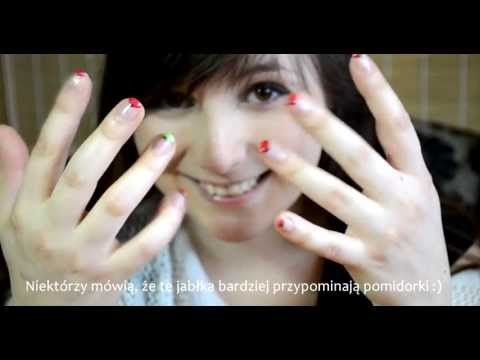Very simple way for interesting and cute nails. It takes very little amount of time and doesn't require any special abilities.