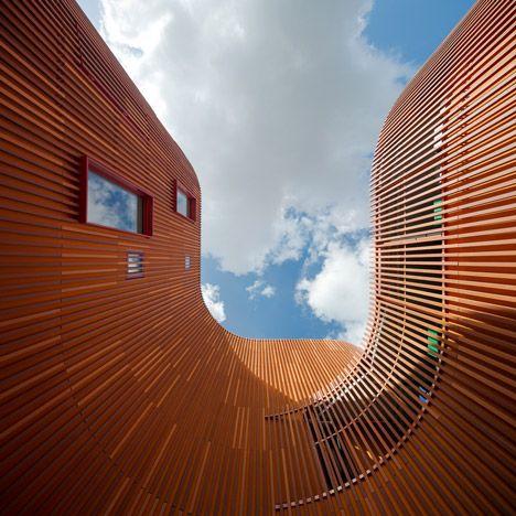 """Copenhagen kindergarten designed as a """"village for children""""."""