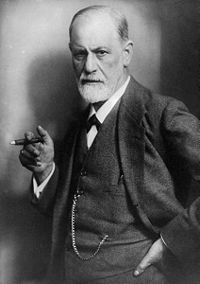 """Sigmund Freud. """"Civilization began the first time an angry person cast a word instead of a rock."""" . . . """"A certain degree of neurosis is of inestimable value as a drive, especially to a psychologist."""""""