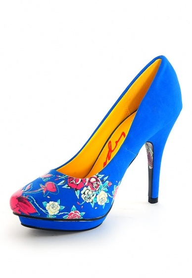 Ed Hardy Pump, Schuhe, Absatzschuhe, Absatzschuhe, Blau, Female, 36