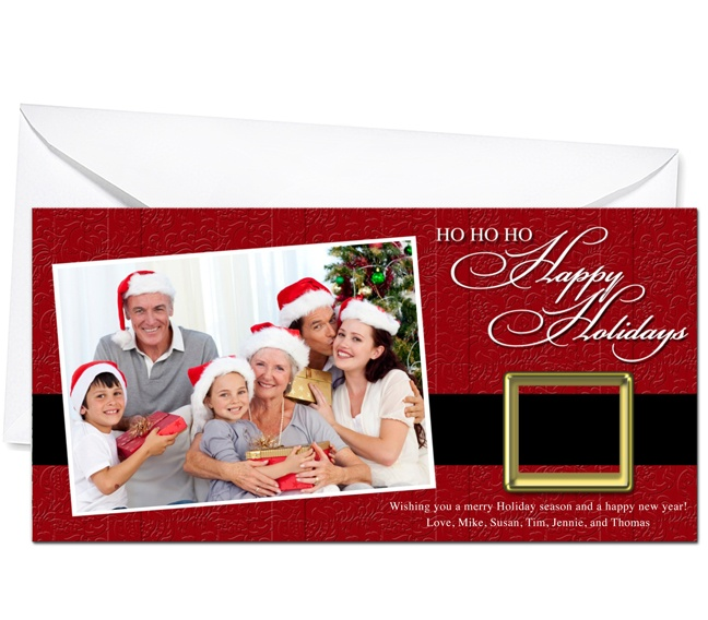 Photo Cards : Nicholas Christmas Holiday Photo Card Template