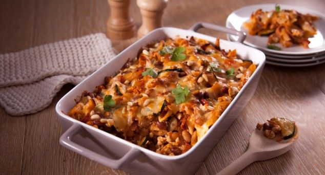This quick and easy pasta bake will be an instant family favourite. We've even added a nutritious extra. Don't tell the kids ;)  #italian #pasta #recipe