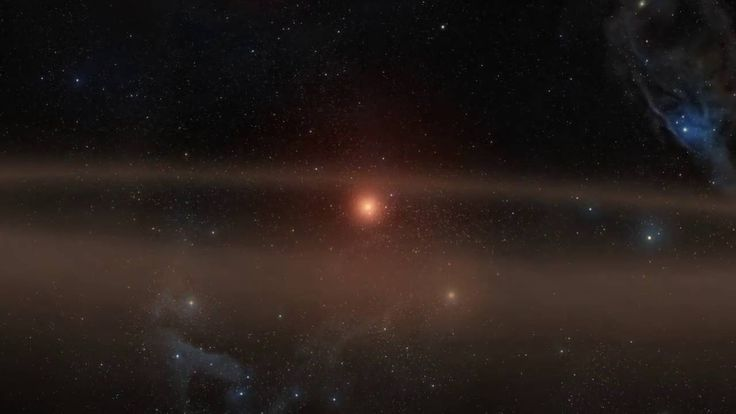 Young Star and Its Infant Planet Artist's animation