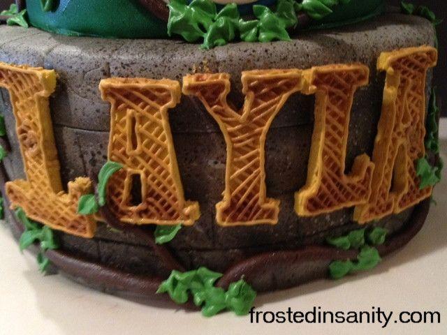 Frosted Insanity: Brave Birthday Cake