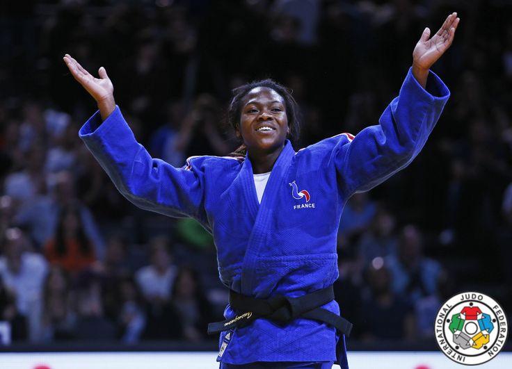 Clarisse Agbegnenou (FRA) - Grand Slam Paris (2016, FRA) - © IJF Media Team, IJF