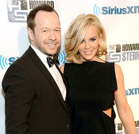 Donnie Wahlberg and Jenny McCarthy at Hammerstein Ballroom on Jan. 31