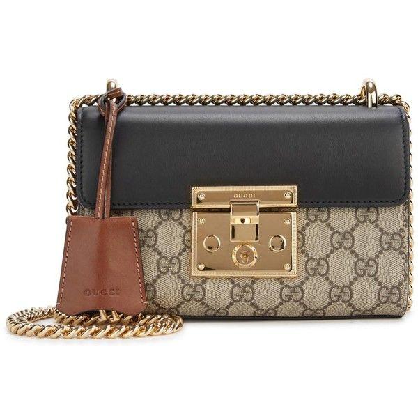 Womens Shoulder Bags Gucci Padlock GG Supreme Small Shoulder Bag