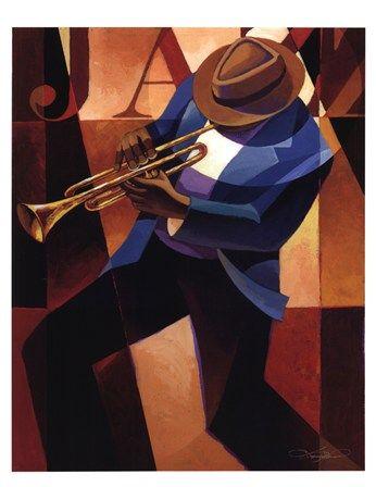 Swing by Keith Mallett art print 12x16 posterhero.com