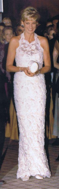 Diana, Princess of Wales in Catherine Walker