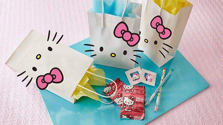 DIY - Sacolinha surpresa da Hello Kitty