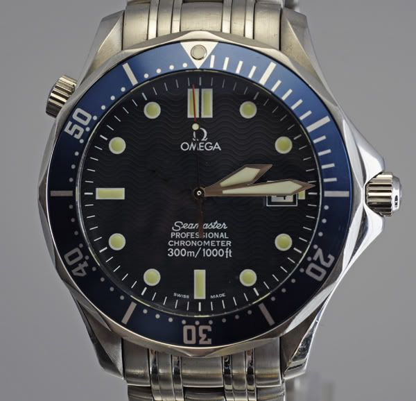 "Modded Omega Seamaster ""Bond"" watch"