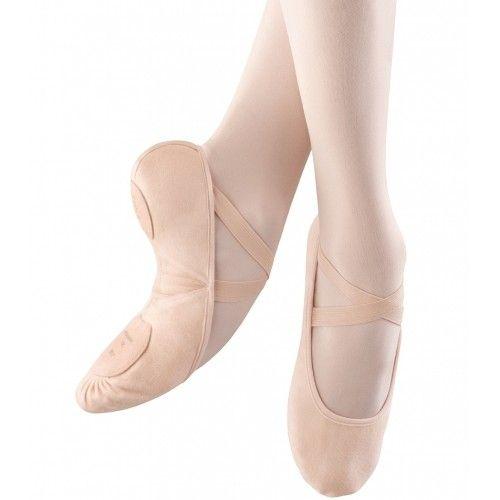Bloch Proarch Canvas Ladies Ballet Shoes