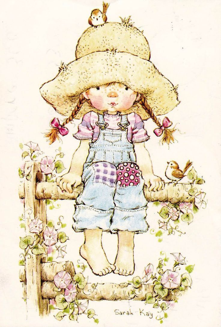 Niñita con trenzas - Sarah Kay