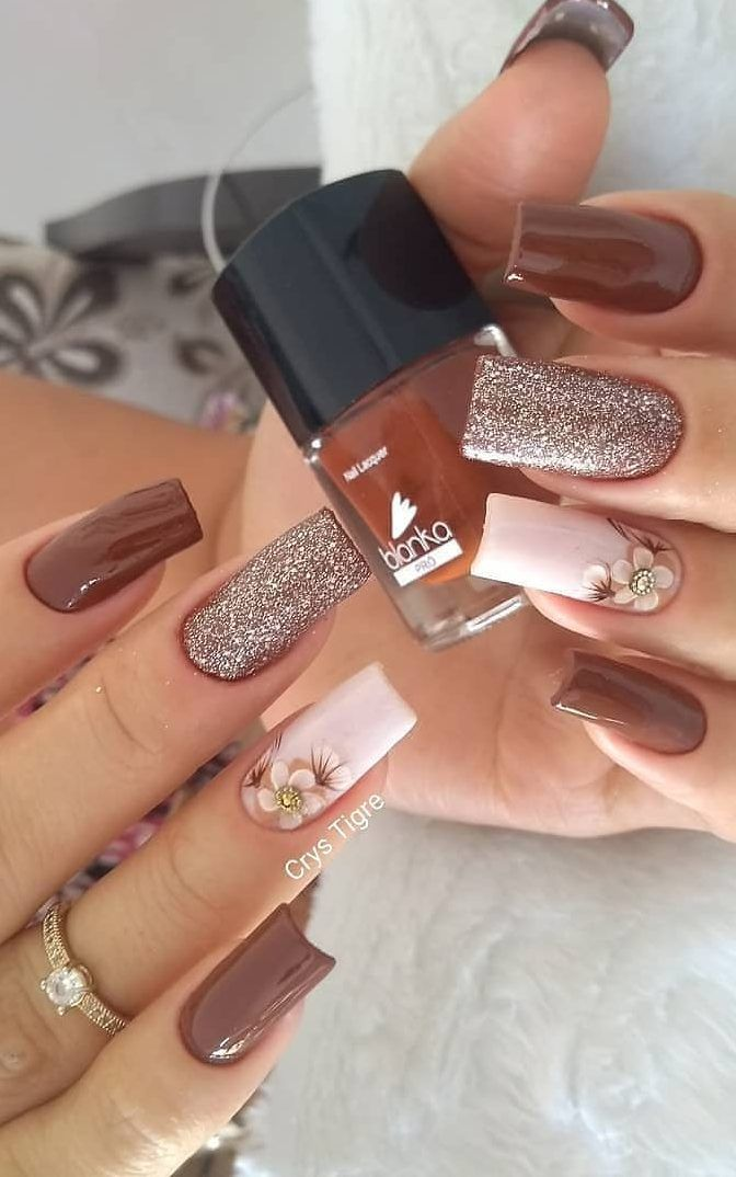 40 Stylish Easy Nail Polish Art Designs for This Summer for 2019 – Page 11 of 40