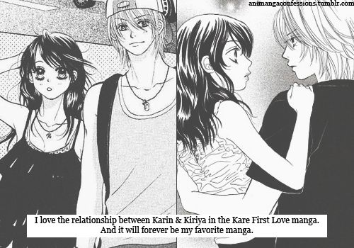 Animanga Confessions kare first love