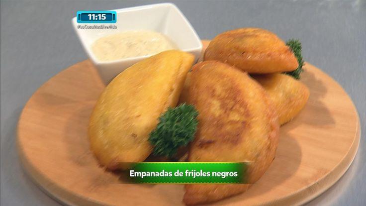 Receta - Empanadas de Frijoles Negros