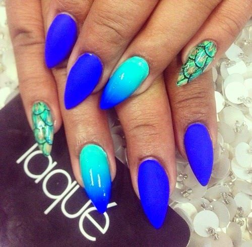 I would do the squared off nails in this design instead
