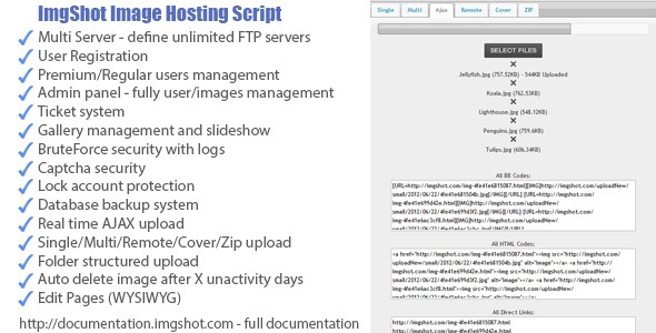 Codecanyon Imgshot Image Hosting Script Nulled » Nulled Scripts, php, WSOs - NulledShare.com