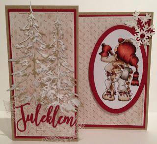 Kirstens Hobbyblogg: Julekort...