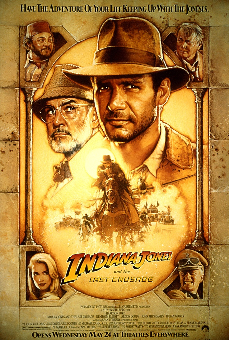 Indiana Jones and The Last Crusade.  Harrison AND Sean (ESPECIALLY Sean - sorry Harrison) My, Oh My!!!  Happy Lisa!!!