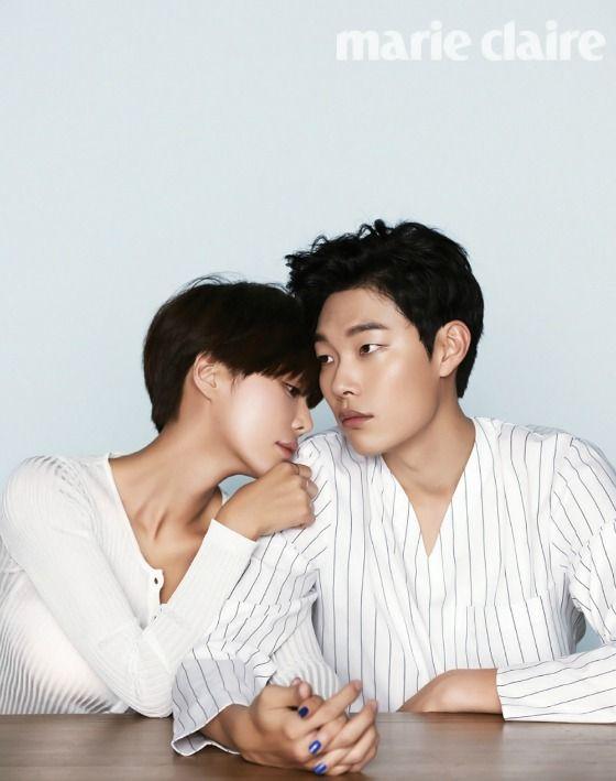Ryu Joon-yeol and Hwang Jung-eum get handsy for Lucky Romance » Dramabeans Korean drama recaps