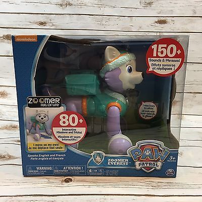NEW Spin Master Paw Patrol Zoomer Everest Interactive Toy Dog Nickelodeon 778988624272   eBay