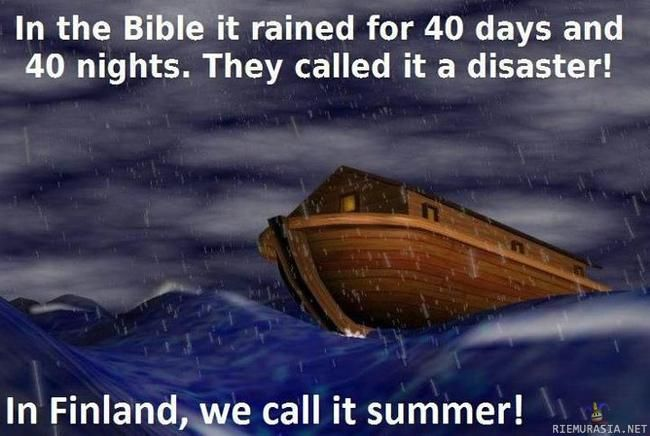 Finland vs Bible