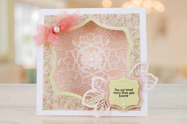 Desert Rose by Tattered Lace gives you everything you need to create beautifully detailed cards for any occasion